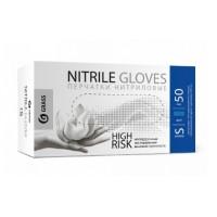 IT-0557 Перчатки нитриловые High Risk синие (короб 50шт) размер S