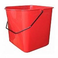 IT-0270 Ведро 23л для двойной уборочной тележки на 46л, пластик, красное