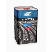 BLACK TIRE 5 Чернитель покрышек  5л (востановитель резины и пластика) PLEX