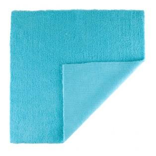 1223803 Микрофибра без оверлока односторонняя 40*40см, 380 гр/м2 синяя