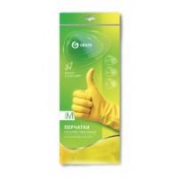 IT-0525 Перчатки хоз. латексные в инд. упаковке,пара. Желтые. размер M