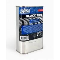 PLEX BLACK TIRE Чернитель покрышек  1л (востановитель резины и пластика)