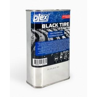 BLACK TIRE 1 Чернитель покрышек  1л (востановитель резины и пластика) PLEX