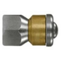 M-200049860 Форсунка вращающаяся каналопромывочная (вход 3/8внут, 3 отверстия, размер 040)
