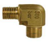 R+M 10005450 Переходник (угловой) 3/8внут - 3/8внеш, 350bar, латунь