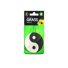 ST-0396 Картонный ароматизатор GRASS гибискус