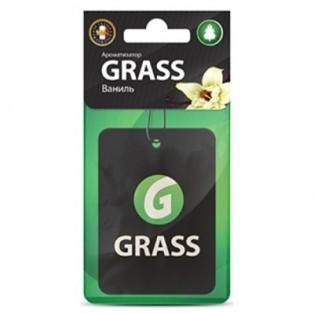 ST-0404 Картонный ароматизатор GRASS ваниль