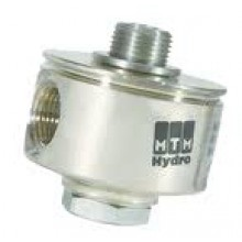 26.0005 Поворотная муфта для консоли 90°, 280бар, 40 л/мин, 120 °C, вход-1/4  выход-1/4, нерж. ст