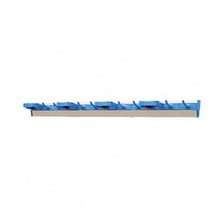 9010 Настенное крепление (направляющая с крючками, резиновые зажимы и боковые заглушки), алюминий