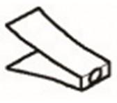 M-25102053 Дефлектор для LS3, нерж.сталь
