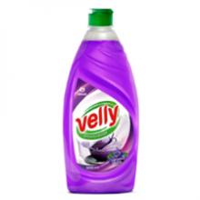 """125383 Средство для мытья посуды """"Velly"""" Бархатная фиалка 500 мл"""