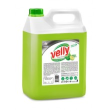 "125425 Средство для мытья посуды ""Velly Premium""лайм и мята 5кг."