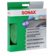 417200 Аппликатор микрофибровый для пластика SONAX