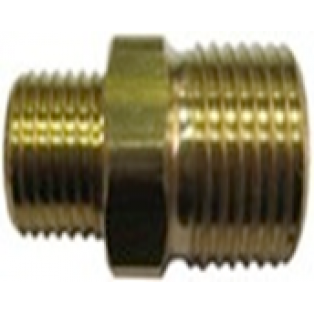 R+M 57050 Переходник 1/4внеш - 3/8внеш, 400bar, латунь