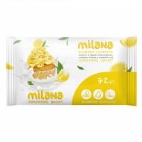 IT-0574 Влажные антибактериальные салфетки Milana Лимонный десерт (72 шт.)