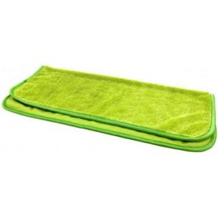 """TP-480 Микрофибра  """"TORNADO"""" зеленая с окантовков 40x45 см."""