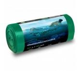 PP-0027 Мешок для мусора ПНД в рулоне 30 л. 46*55 7 мкр (зеленый) (рул. 40 шт)