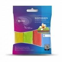 IT-0582 Набор салфеток из микрофибры 30*30 см. 4 шт.