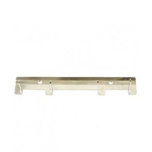 9014 Настенное крепление (4 крючка) 356x60x65 мм, нержавейка