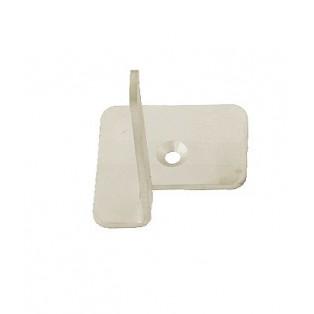 9015 Настенное крепление (1 крючок) 50x60x65 мм, нержавейка