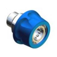 """26.2555.40Байонет ARS 178 высокого давления 1/2""""ш, 250 бар (нерж) в синем пластике."""