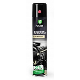 120107-3 DASHBOARD Cleaner Клубника полироль очиститель пластика (аэрозоль 750 мл)