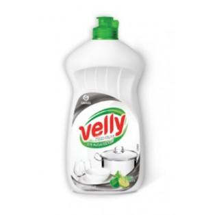 """125423 Средство для мытья посуды """"Velly"""" Premium лайм и мята (флакон 500 мл)"""