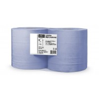 Протирочные полотенца. цвет:синий, 2-сл, 1000 листов, h-23 cм, размер листа 23 * 35 см, 2рул/упак.