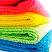 12.0077 К Салфетка из микрофибры 40х40см, 250 гр (упак 20шт) синие, зеленые, красные, желтые)