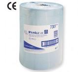 7301 Материал протирочный бумажный Wypall L20 Extra+ ,2-сл, 38*33см,500л,голубой