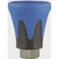 R+M 200010710 Пластиковая защита форсунки (сине-черная), 500bar, 1/4внут, нерж.сталь