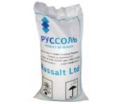 Соль пищевая выварочная экстра таблетированная затаренная в мешок п/э по 25 кг.