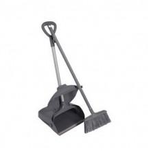 AF01205 набор совок+щетка (черный)