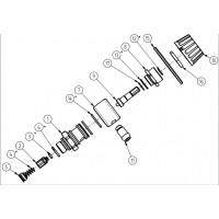 R+M 200161490 Ремкомплект инжектора ST-160,161