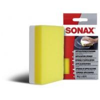 417300 Губка для нанесения полироля двухсторонняя жесткая/магкая SONAX