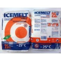 Противогололедный материал АйсМелт п/меш 25 кг (-25 С)