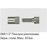 """R+M 329312129  Соединение шланга резьбовое1/2""""внут. нерж. сталь, max. 50bar"""