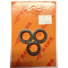 260803 Рем. комплект масл.уплотнений HAWK (3 манж.)