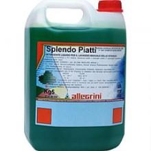 016SPEX0020 SPLENDO PIATTI (4х5кг) Ср-во для мытья посуды