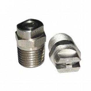 Форсунка угол распыла 25 (сила удара-100%), 1/4внеш, нерж.сталь