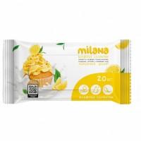 IT-0577 Влажные антибактериальные салфетки Milana Лимонный десерт (20 шт.)