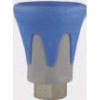 R+M 200010740 Пластиковая защита форсунки (сине-серая), 500bar, 1/4внут, нерж.сталь